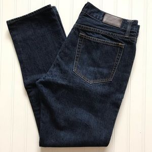 "J. CREW ""The Driggs"" 5 Pocket Blue Jeans!  32 x 30"